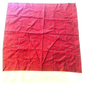 Other - Used holly print square holiday linen, good cond